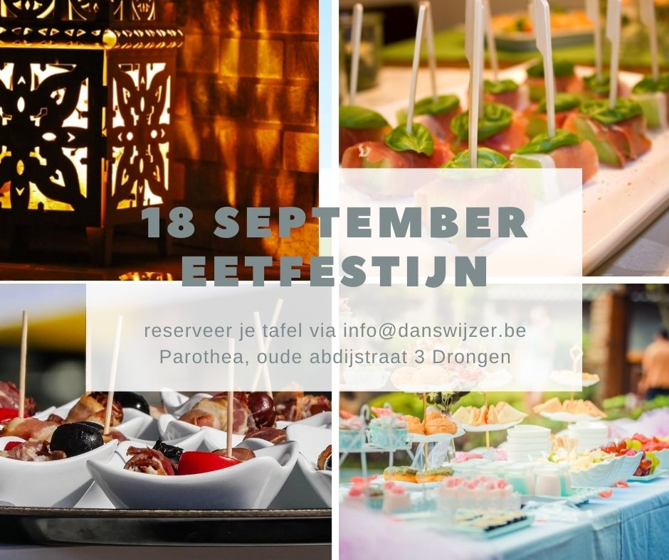 18 september Eetfestijn